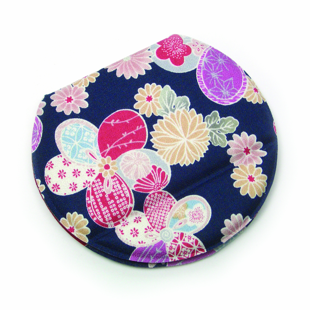 flower dark blue 304