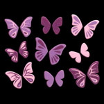 484 New butterfly violet