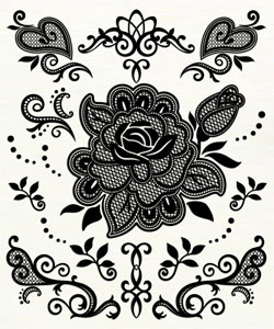 fl09S Rose (Black)