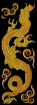 K054 Hokusai Dragon Gold right