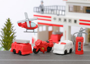 Fire Engine & Ambulance