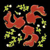 427 silhouette goldfish red