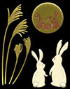 476 moon & rabbit